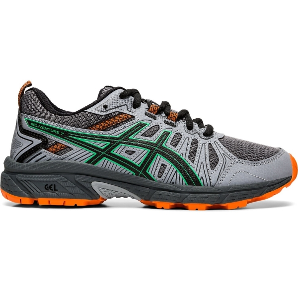 Asics Gel-Venture 7 GS Boys Trail Running Shoes: Black/Safety Yellow | Mike  Pawley Sports
