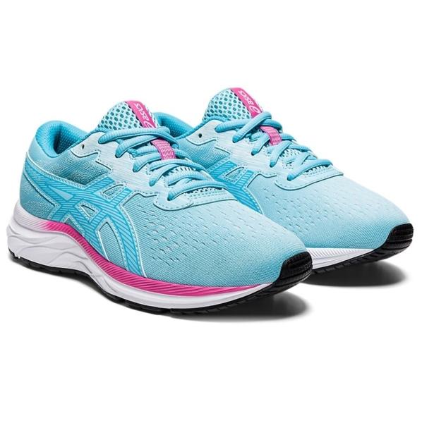 Asics Gel-Excite 7 GS Girls Running Shoes: Ocean Decay/Aquarium