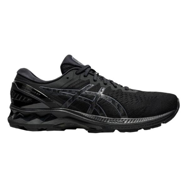 Asics Gel-Kayano 27 Mens Running Shoes: Black/Black