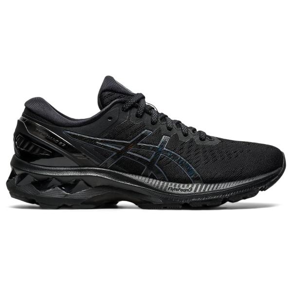 Asics Gel-Kayano 27 Womens Running Shoes: Black/Black: US 13