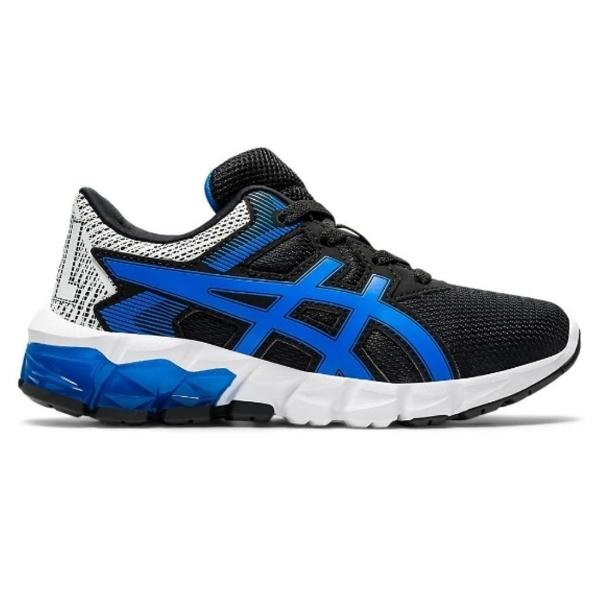 Asics Gel-Quantum 90 2 GS Boys Sportstyle Shoes: Black/Electric Blue: US 5