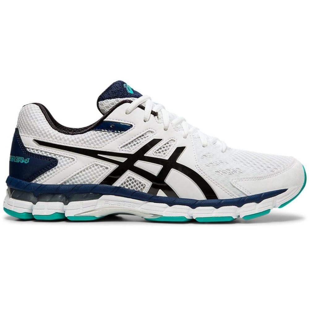 Asics Gel-Rink Scorcher 4 (4E) Extra Wide Mens Bowls Shoes - SIZE 14 ONLY: White/Black