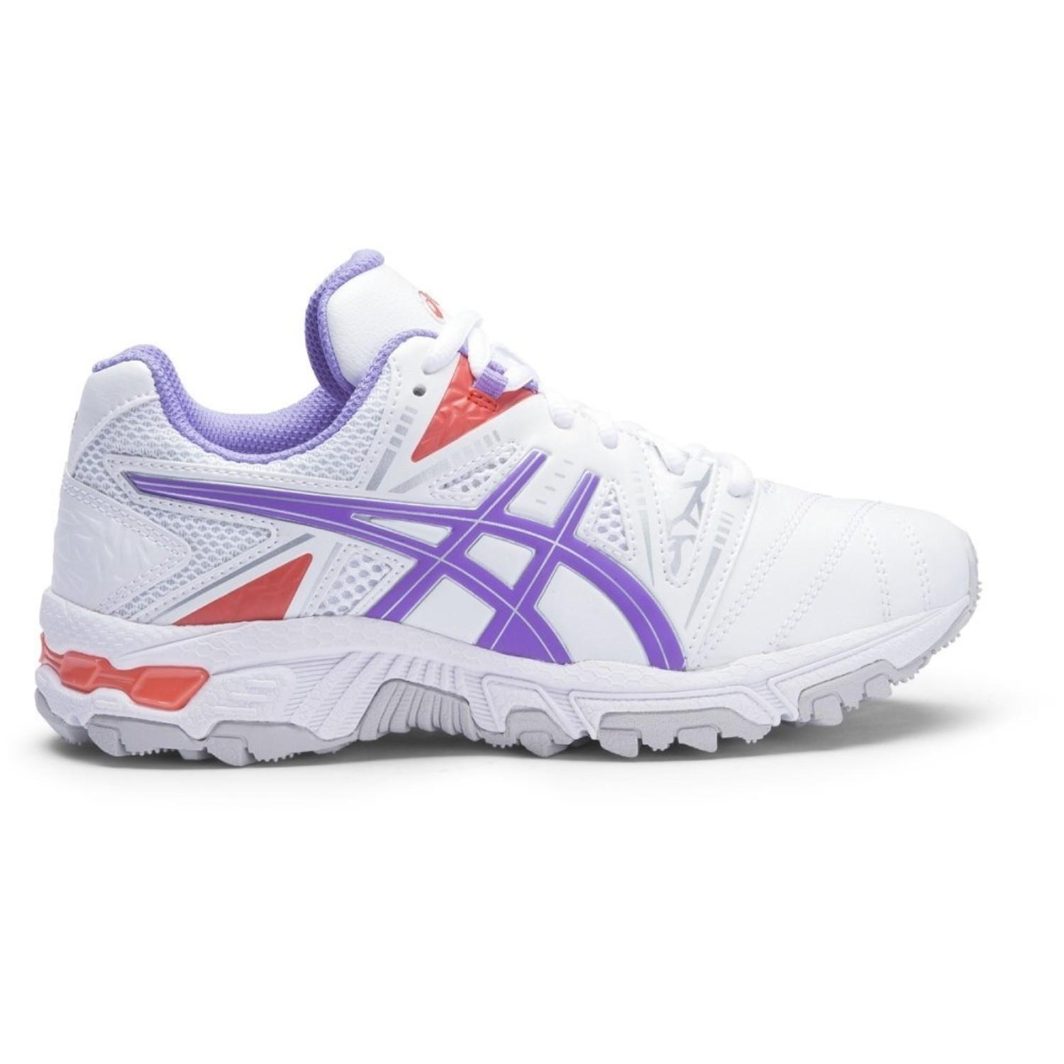 Asics Gel-Trigger 10 PS Girls Cross Training Shoes: White/Lagoon/Kylie |  Mike Pawley Sports