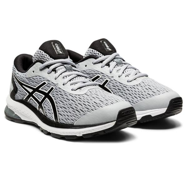 Asics GT-1000 9 GS (NEW) Boys Running Shoes: Piedmont Grey/Black
