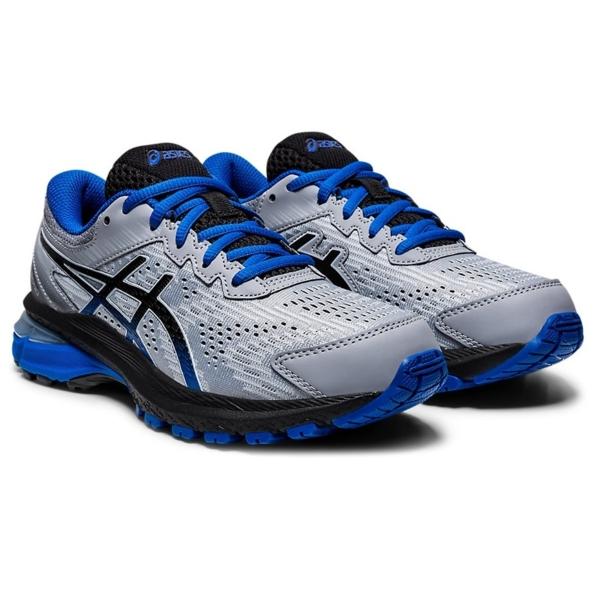Asics GT-2000 8 GS Boys Running Shoes: Sheet Rock/Black: US 5
